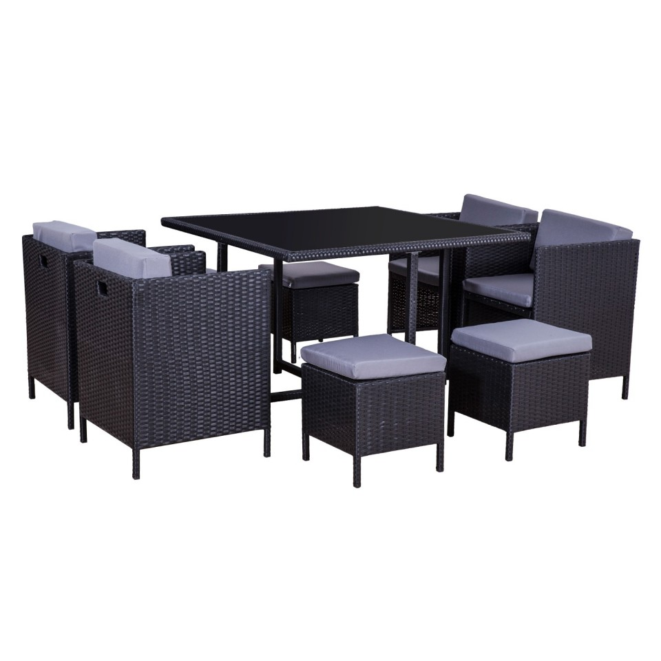 MUNGA 8 Places - Ensemble encastrable salon / table de ...